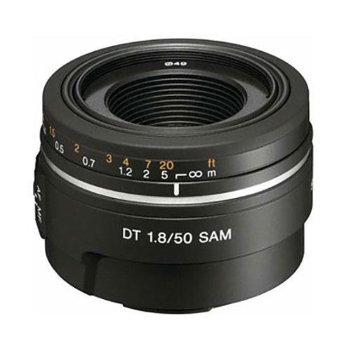 Sony DT 50mm f/1.8 SAM Lens - Ex Display