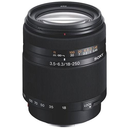 Sony DT 18-250mm f/3.5-6.3 Lens - Ex Display