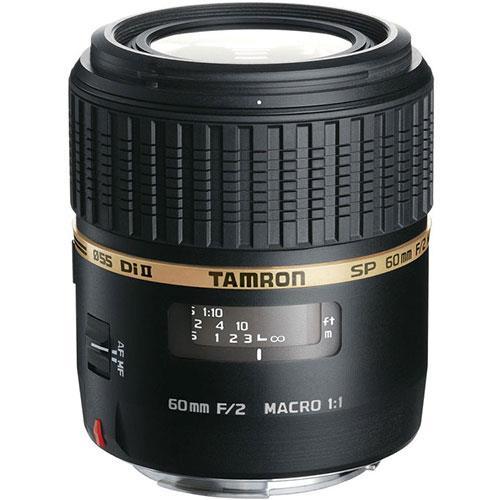 Tamron 60mm f2 SP Di II Macro Lens - Nikon AF