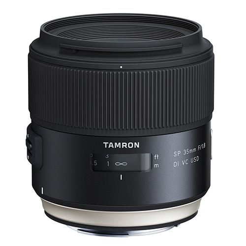 Tamron SP 35mm f/1.8 Di VC USD Lens for Canon