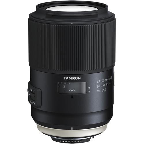 Tamron SP 90mm f/2.8 Di Macro VC USD Lens for Canon