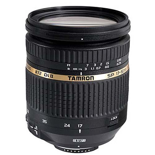 Tamron SP 17-50mm f/2.8 VC Di II Lens for Canon