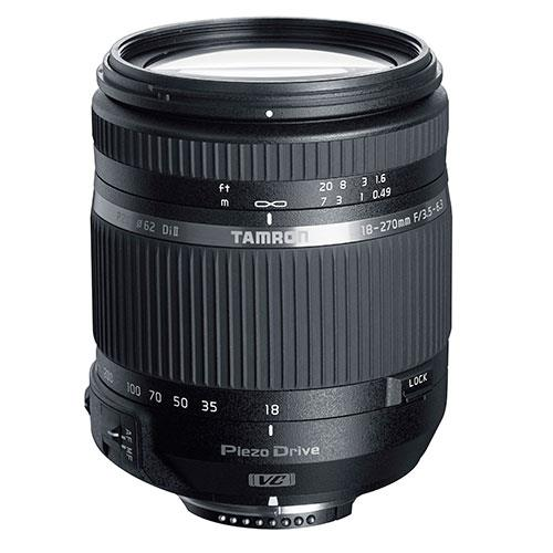 Tamron 18-270mm f/3.5-6.3 TS VC PZD Lens for Nikon