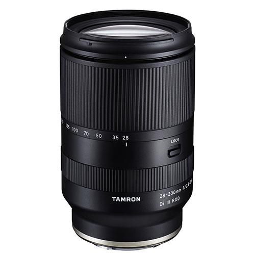 Tamron 28-200mm F2.8-5.6 RXD Lens Sony FE Fit