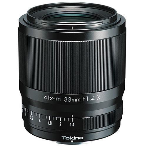 Tokina ATX-M 33mm F1.4 Lens - Fujifilm X-Mount