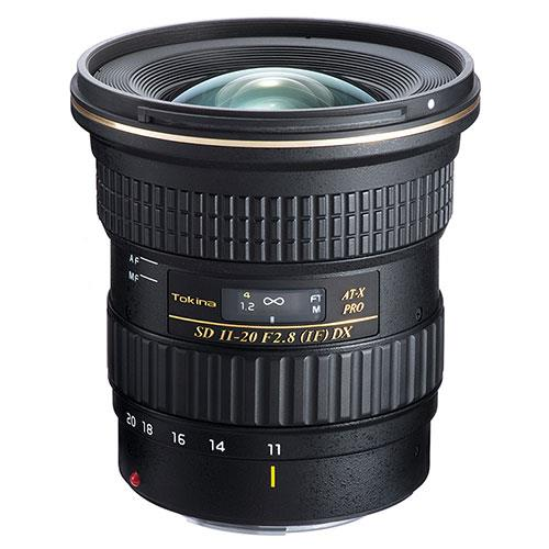 Tokina AT-X 11-20mm f/2.8 Pro DX Lens (Canon Fit)