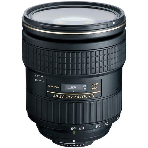 Tokina 24-70mm F2.8 Pro FX Lens - Nikon fit