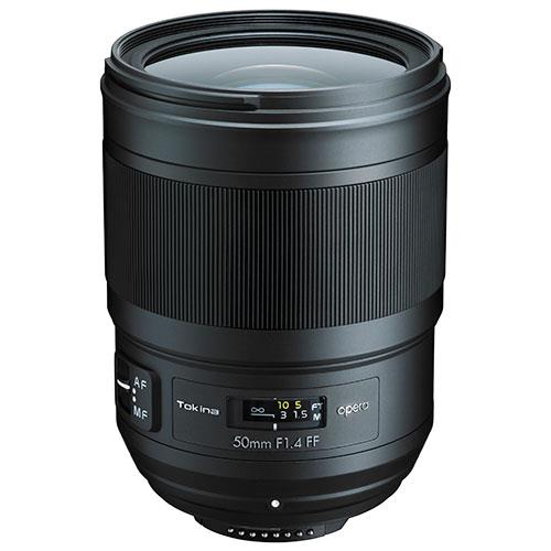 Tokina 50mm f/1.4 FF Opera Lens for Canon EF
