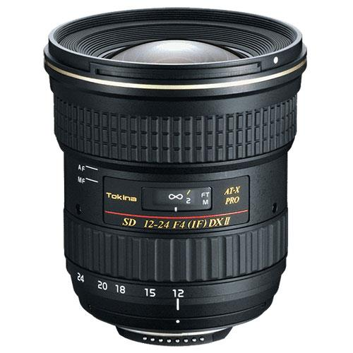 Tokina AT- X 12-24mm f/4 Pro DX II Lens - Canon EF - Ex Display