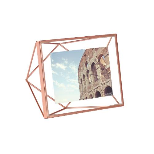 "Umbra Prisma Photo Display 6 x 4"" Copper Frame"