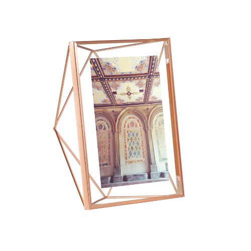 "Umbra Prisma Photo Display 5 x 7"" Copper Frame"