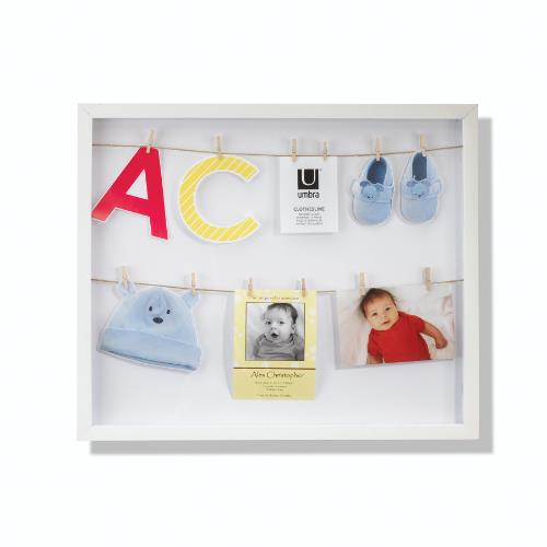 Umbra ClothesLine Photo Display White