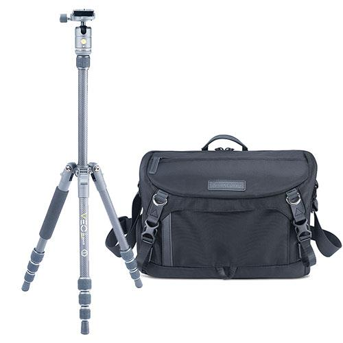 Vanguard VEO 2GO 204CB Capture Carbon Fibre Travel Tripod Kit