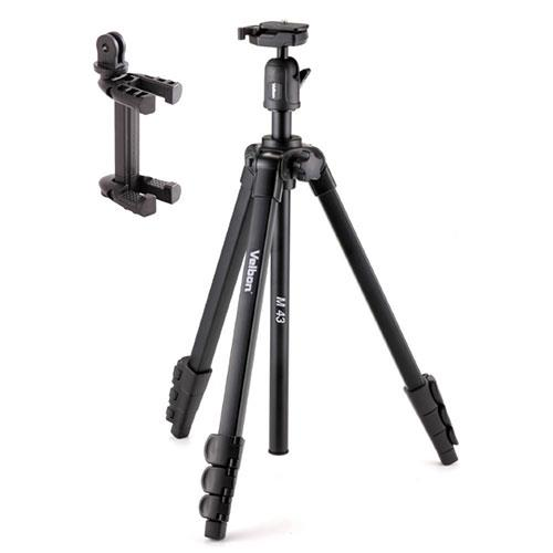 Velbon M43 Tripod with Ball and Socket Head