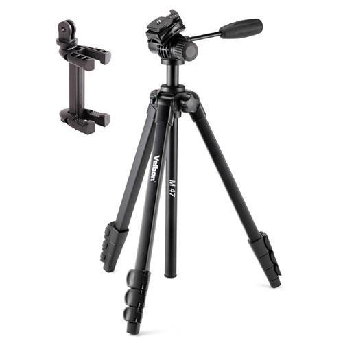 Velbon M47 Tripod with 2-way Fluid Video Head