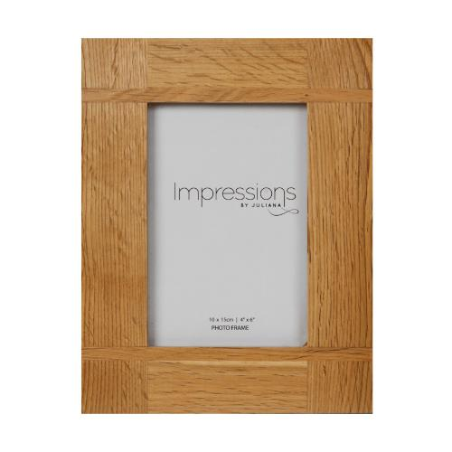 Widdop Impressions Oak Effect 4 x 6' Photo Frame