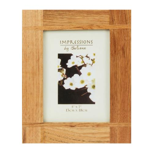 Widdop Impressions Oak Effect 5 x 7' Photo Frame