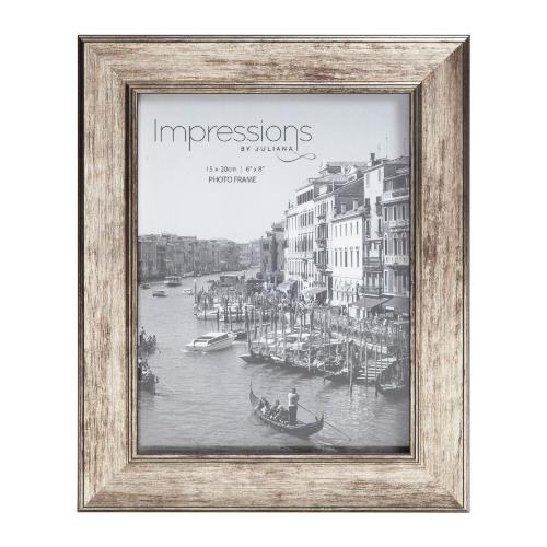 Widdop Impressions Tarnished Pewter Look 6 x 8' Photo Frame