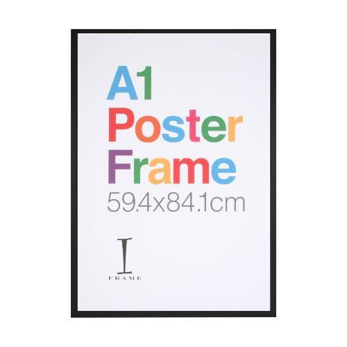 Widdop A1 iFrame Perspex Black Poster Frame