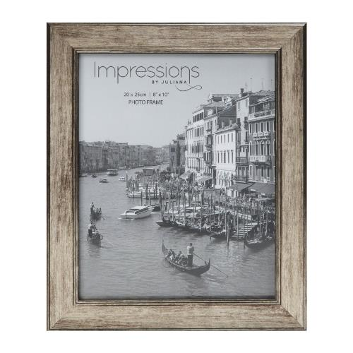 Widdop Impressions Tarnished Pewter Look 8 x 10' Photo Frame