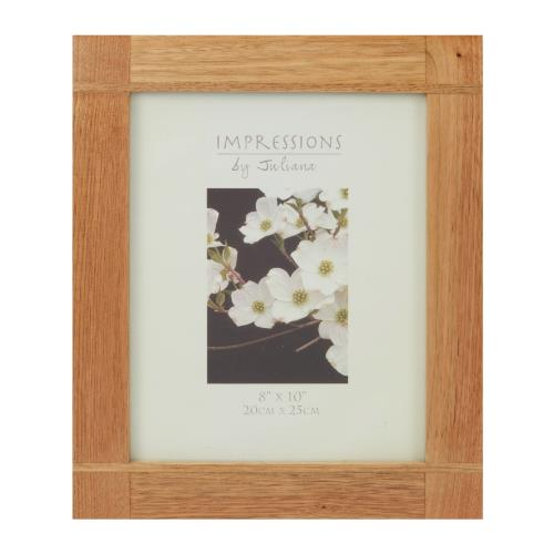 Widdop Impressions Oak Effect 8 x 10' Photo Frame