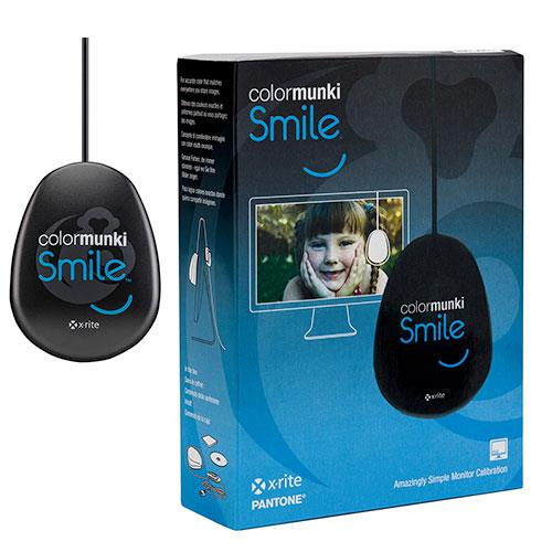 X-Rite ColorMunki Smile Monitor Calibration