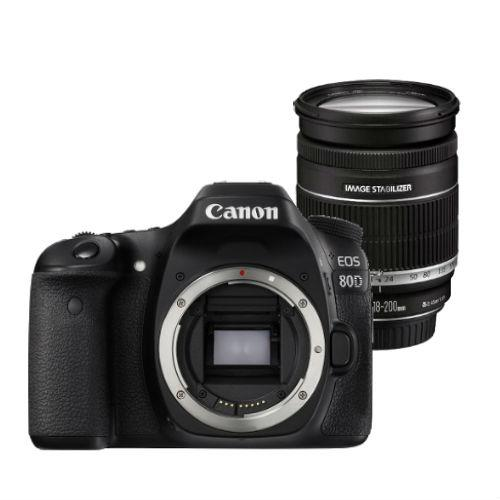 Canon EOS 80D Digital SLR Body with 18-200mm f/3.5-5.6 IS Lens