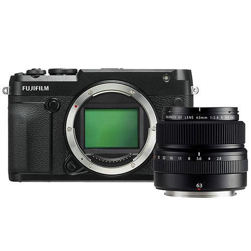 Fujifilm GFX 50R Mirrorless Medium Format Camera Body with GF63mm f/2.8 Lens