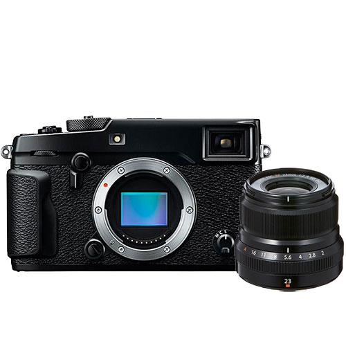 Fujifilm X-Pro2 Mirrorless Camera Body with XF23mm f/2.0 R WR Lens