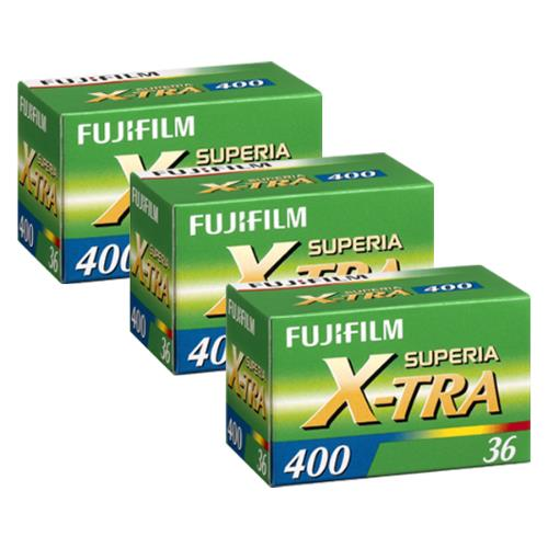 Fujifilm 3 for 2 Superia 400 35mm 36 Exposure
