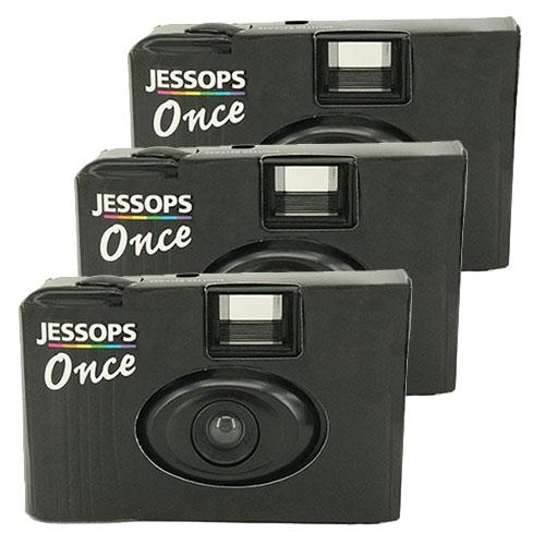 Jessops Single Use Camera with 36 Exposures - Pack of 3