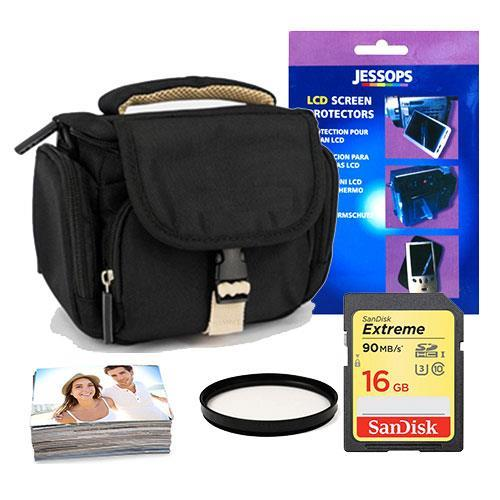 Jessops Mirrorless 16GB Shoulder Bag Bundle 49mm filter