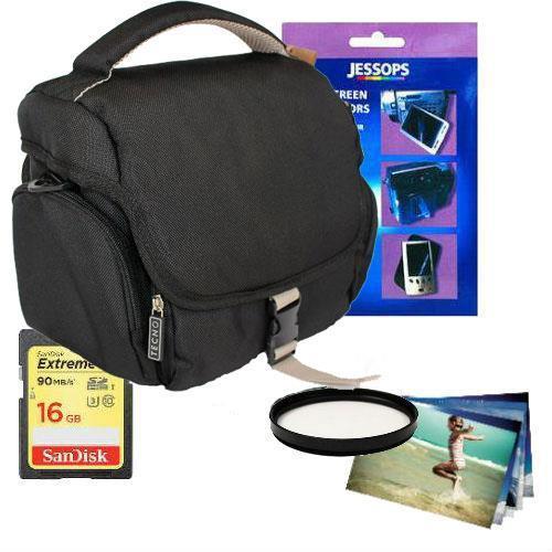 Jessops 16GB GADGET BAG BUNDLE 37mm
