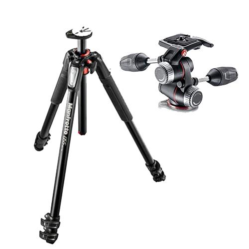 Manfrotto 055XPRO3 3-section Aluminium Tripod with XPRO 3-Way Head