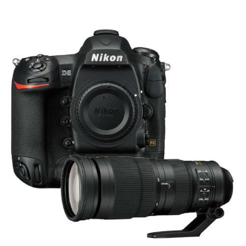 Nikon D5 Digital SLR Body with AF-S NIKKOR 200-500mm f/5.6E ED VR Lens