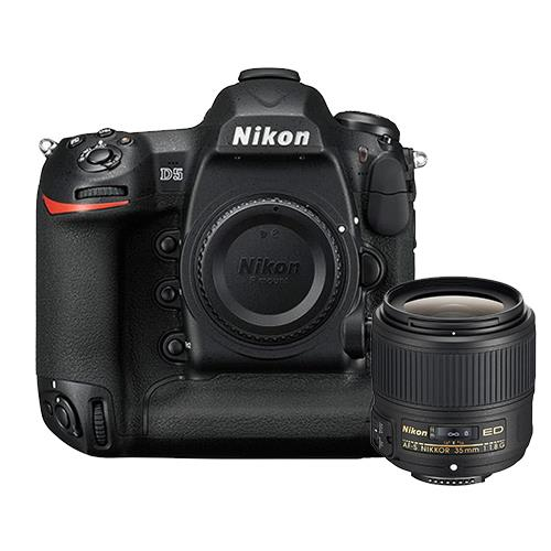 Nikon D5 Digital SLR Body + AF-S NIKKOR 35mm f/1.8G ED Lens