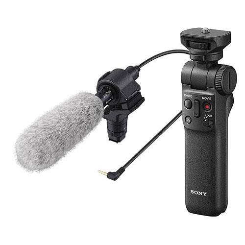 Sony ECM-CG60 Shotgun Microphone and Sony GP-VPT2BT Grip
