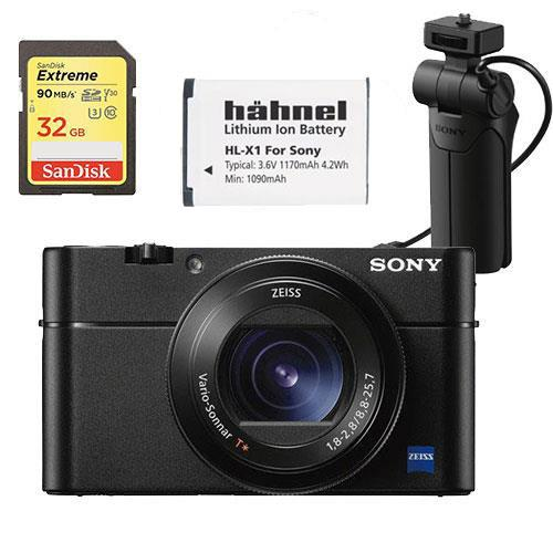 Sony Cyber-shot DSC-RX100 VA Digital Camera Vlogger Kit (Battery)