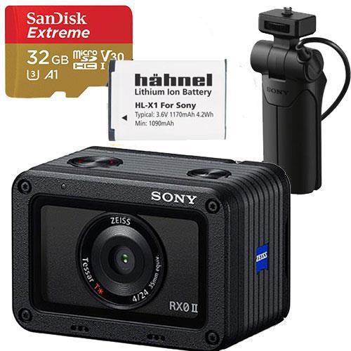 Sony DSC-RX0 II Digital Camera Creators Kit (Battery)