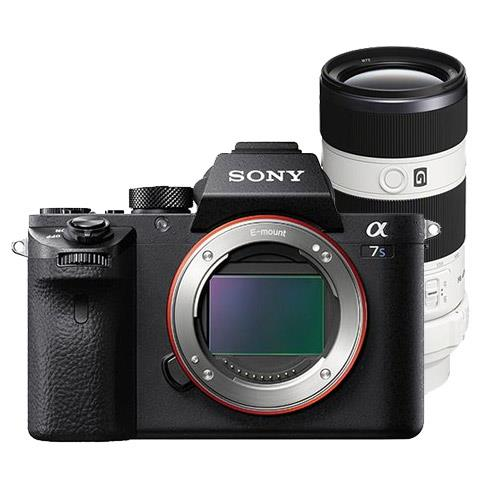 Sony Alpha a7S II Compact System Camera Body with 70-200mm f4 Lens