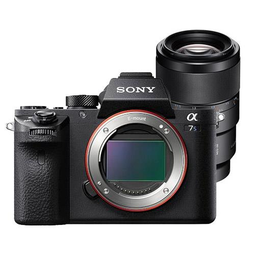 Sony Alpha a7S II Compact System Camera Body with 90mm f2.8 Lens