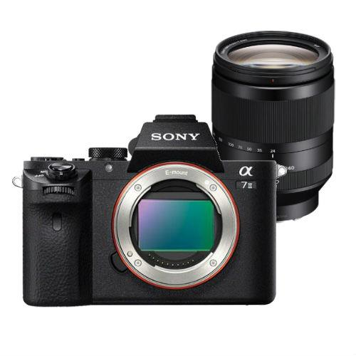 Sony Alpha a7 MKII Compact System Camera Body with 24-240mm Lens