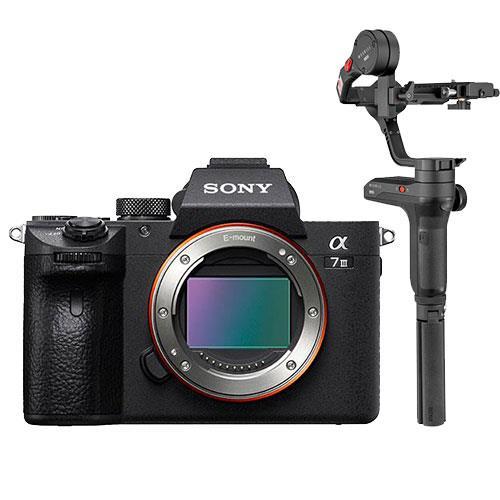 Sony a7 III Mirrorless Camera Body with Zhiyun Weebill Lab Gimbal