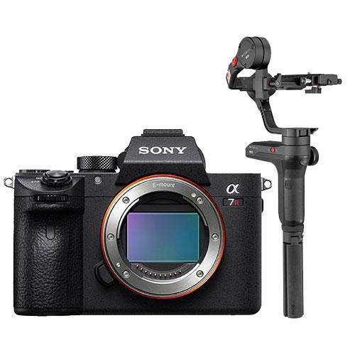 Sony a7R III Mirrorless Camera Body with Zhiyun Weebill Lab Gimbal