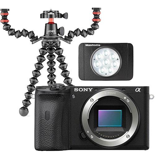 Sony A6600 Mirrorless Camera Body in Black Creator Kit