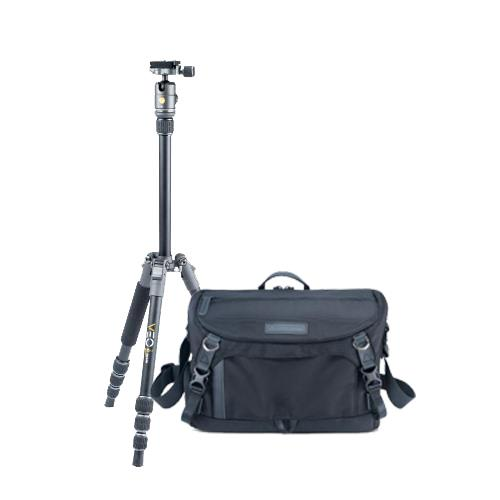 Vanguard Bag and Tripod Street Photography Kit (Black)