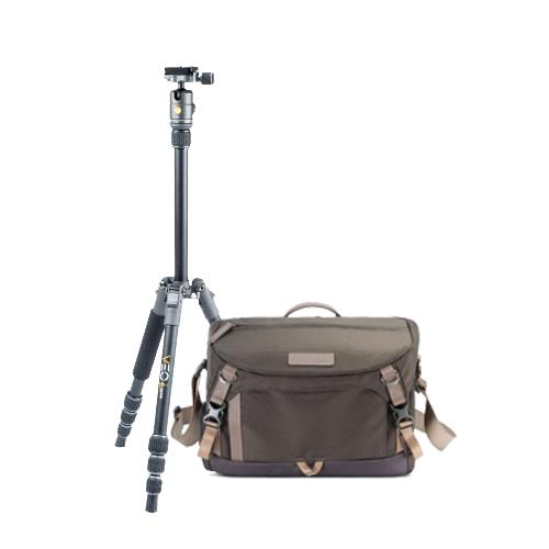 Vanguard Bag and Tripod Street Photography Kit (Khaki)