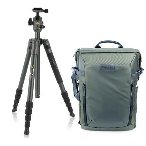 Vanguard VEO 2 235AB Travel Tripod and Veo Select 41 Camera Backpack