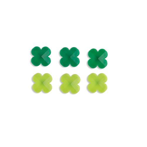 Kikkerland Lucky Clover Push Pins