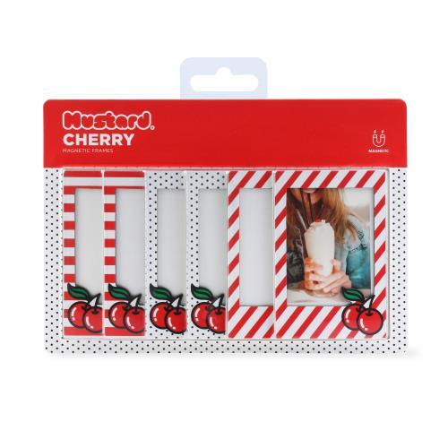 Mustard Cherry Magnetic Frames